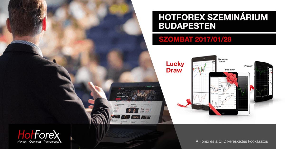 HotForex tőzsde szeminárium Budapesten