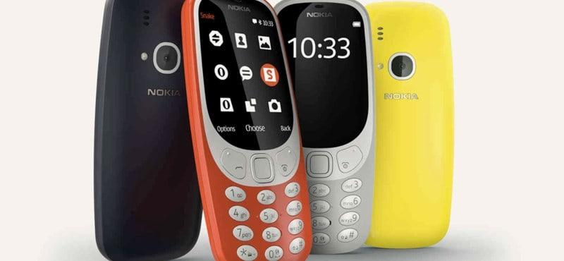 Miért érdekes, hogy a Nokia újra kiadja a 3310-est?