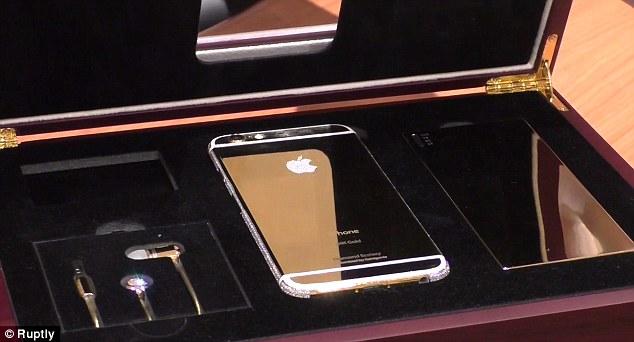 Arany, luxus iPhone 6