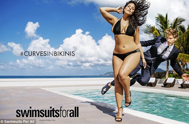 Plus size modell - Ashley Graham - Sports Illustrated